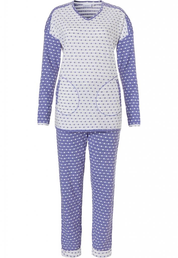 3e16edfcd4 long sleeve pyjama set  mad about dots  - Pyjama-direct