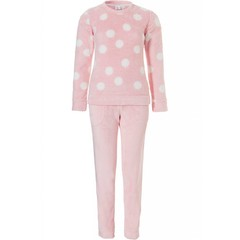 Rebelle coral fleece homesuit 'all about dots'
