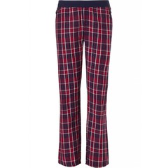 Pastunette Mix & Match lange, flanellen pyjama broek 'heart2heart & moderne ruit'