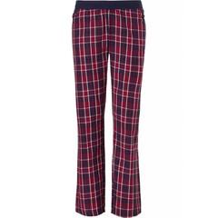 Pastunette Mix & Match lange,  katoenen pyjama broek 'heart2heart & moderne ruit'