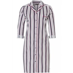 Pastunette Deluxe long sleeve nightshirt 'fresh bold stripes'(optional turn-up sleeves)