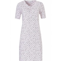 Pastunette short sleeve, cotton nightdress 'floral intuition'