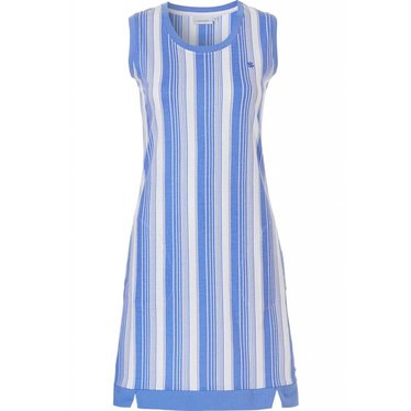 Pastunette sleeveless cotton nightdress 'coded stripes'