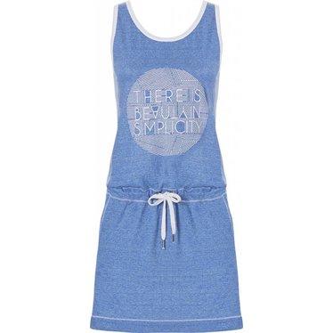 Rebelle mouwloos nachthemd met taillekoord 'beauty in simplicity diamante'
