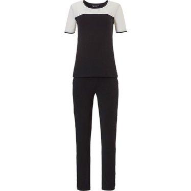 Pastunette Deluxe short sleeve pyjama 'luxury in monochrome'