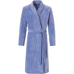 Pastunette for Men men's light blue morninggown