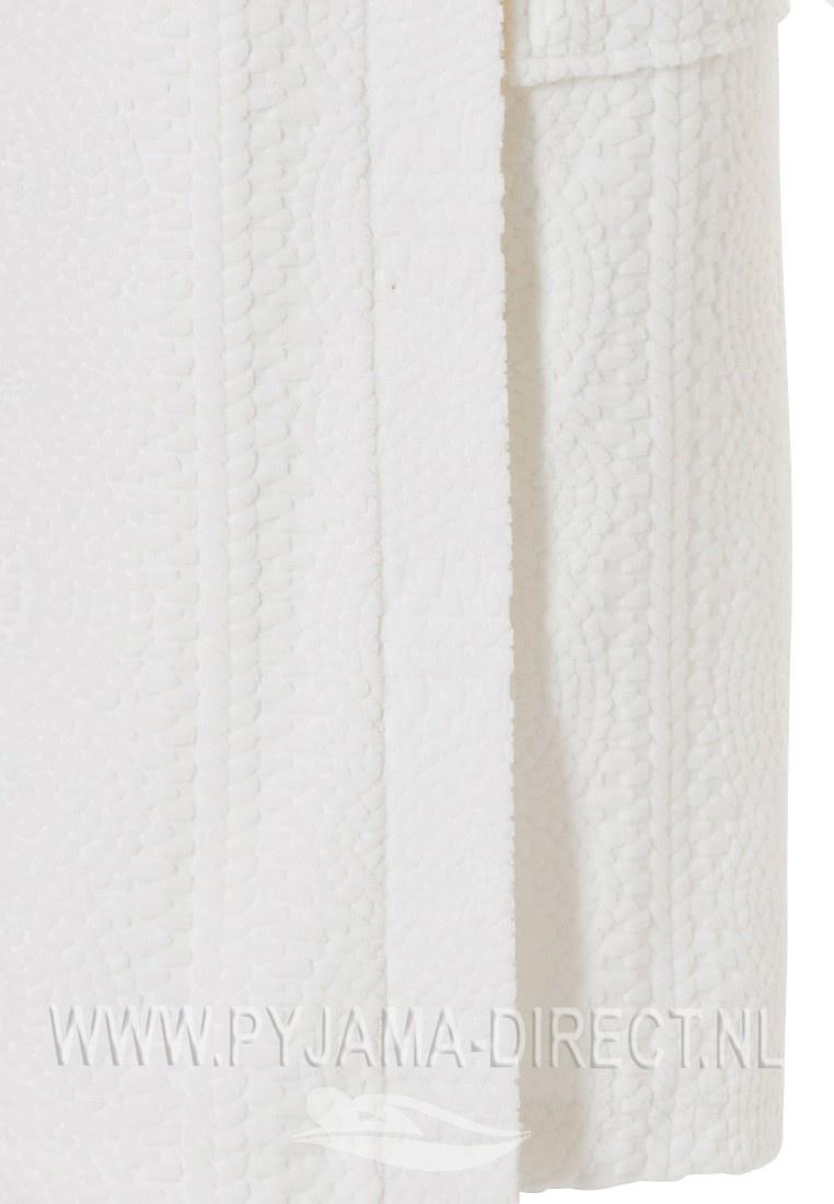 Pastunette Deluxe luxury ladies off-white velvet kimono