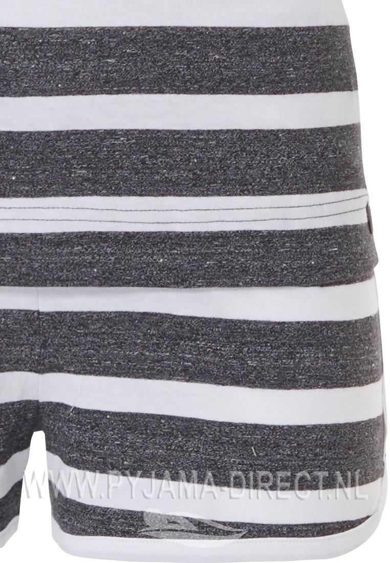 Rebelle trendy stripey shorty set  'ЯB - RELAX IN STYLE diamanté'