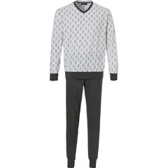 Pastunette for Men heren pyjama met boorden 'crazy little cactus'