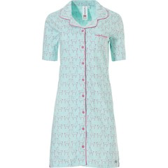 Rebelle cotton full button nightdress 'Sleepy little Lily Llama'