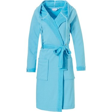 Pastunette terry bathrobe with hood and tie waist