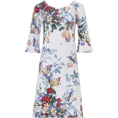 Pastunette Beach 'off the shoulder' Summer beach holiday jurkje 'butterfly flowers'