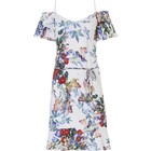 Pastunette Beach Summer beach holiday dress 'butterfly flowers' with straps