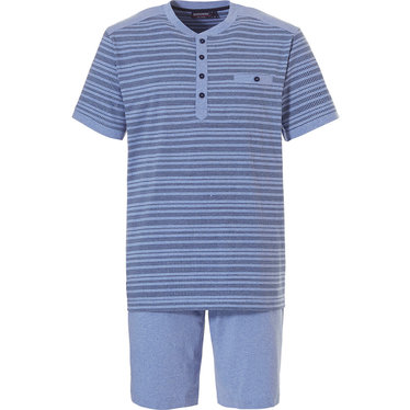 Pastunette for Men heren shortama 'in the stripe'
