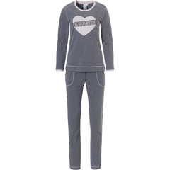 Rebelle ladies pyjama set 'live the life you love ♥  heart picture