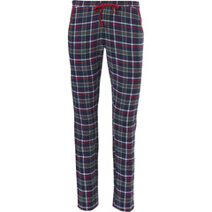 Rebelle Mix & Match long, flannel pants 'trendy seasonal checks' with tie waist