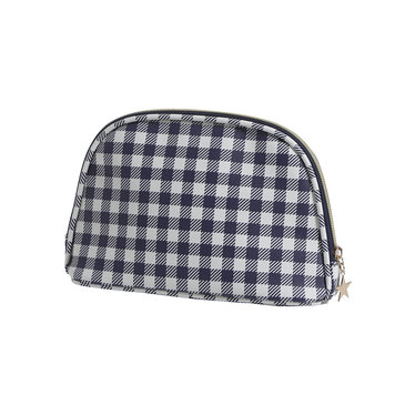 Pastunette Deluxe luxe, small size, toilettas / make-up tas 'gingham' ruit
