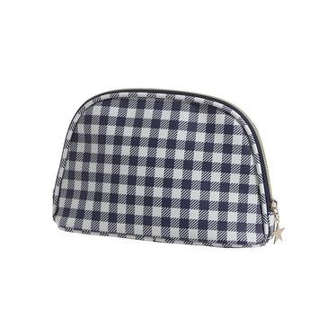 Pastunette Deluxe small luxury toiletries/make-up bag 'gingham checks'