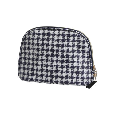 Pastunette Deluxe medium luxury toiletries/make-up bag 'gingham checks'
