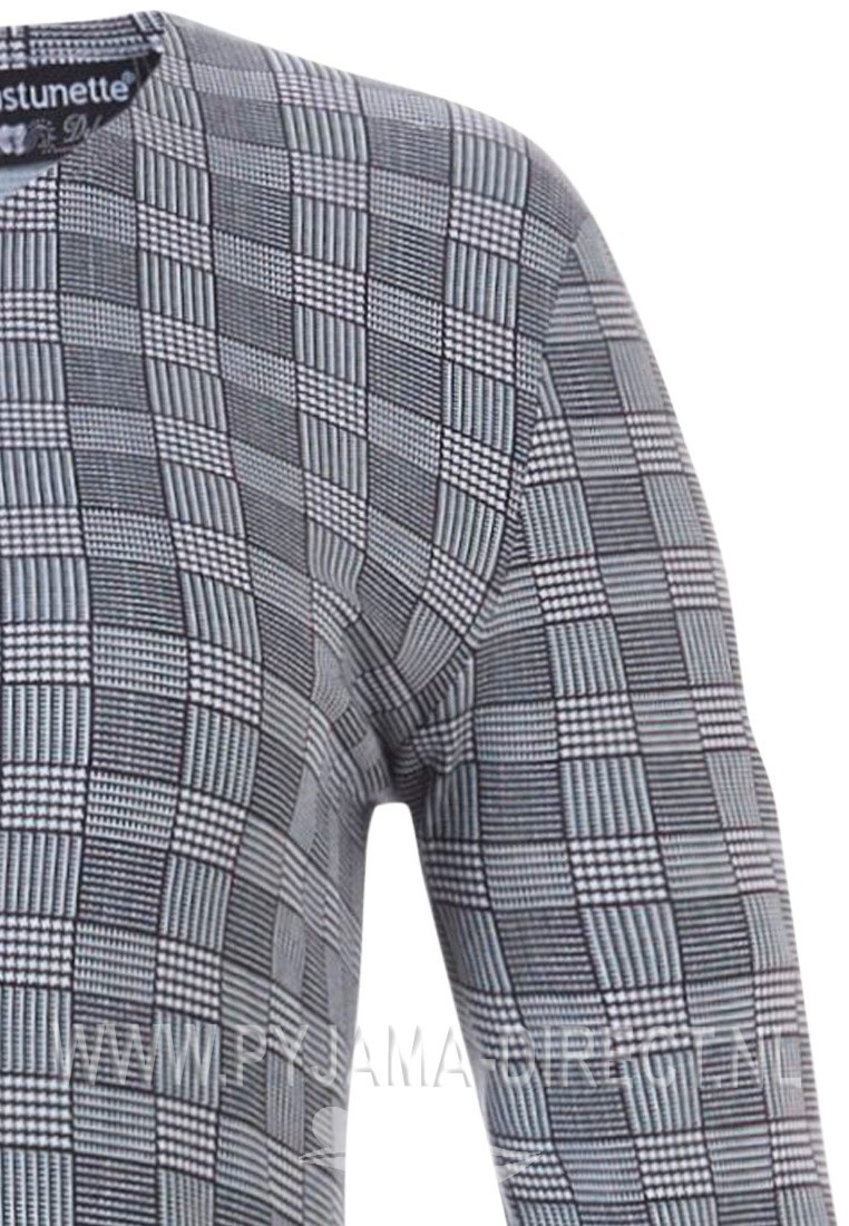 Pastunette Deluxe 3/4 sleeve home dress with stylish 'Prince of Wales check'