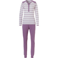 Pastunette long sleeve cotton pyjama set 'catching your dreams'