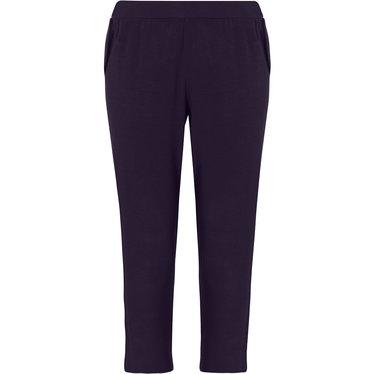 Pastunette Deluxe donkerblauwe Mix & Match 3/4 pyjama broek met zakken