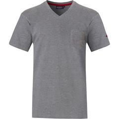 Pastunette for Men mens grey short sleeve Mix & Match top with v-neck