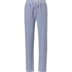 Pastunette for Men mens Mix & Match long lounge-style sweatpants 'fine cool lines'