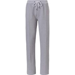 Pastunette for Men lange lounge-stijl broek voor heren met rechte pijpen, elastische taille met koord
