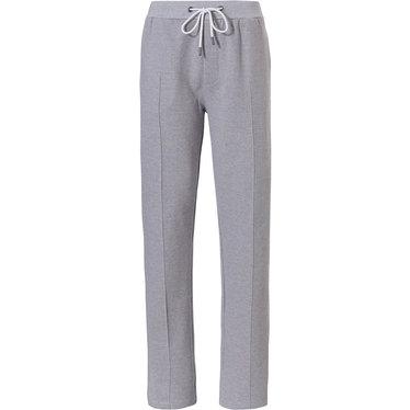 Pastunette for Men Mix & Match 'fine cool lines' lichtgrijze lounge-stijl lange broek voor heren met zakken, elastische taille met taillekoord