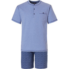 Pastunette for Men mens shorty set with buttons 'in the mix'