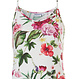 Pastunette Beach 'beautiful Summer flowers' off white & pink Premium Collection  beach dress with adustable straps and all over beautiful  pink roses and Summer flowers