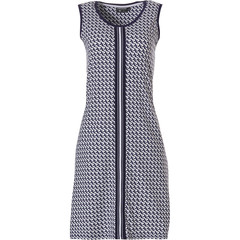 Pastunette Deluxe ladies sleeveless dress ''little crescents & bold stipe'