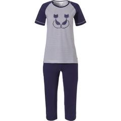 Rebelle katoenen pyjama met korte mouwen en 3/4e broek