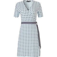 Pastunette Deluxe ladies short sleeve homewear-nightdress 'symmetrical elegant diamonds & 60's circles'