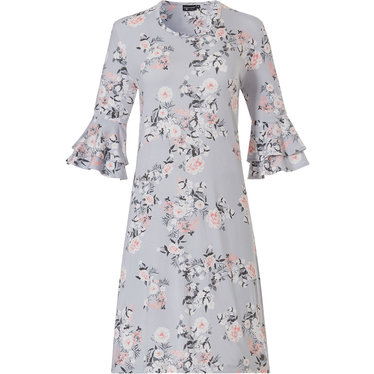 Pastunette Deluxe 3/4 sleeve ladies 'satin soft' nightdress 'beautiful spring blossom'