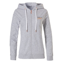 Rebelle ladies Mix & Match hoody with full zip  'Good as Gold'