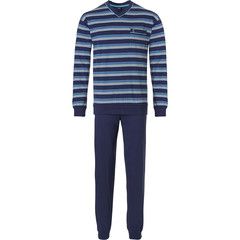 Robson men's long  sleeve cotton pyjama set with cuffs