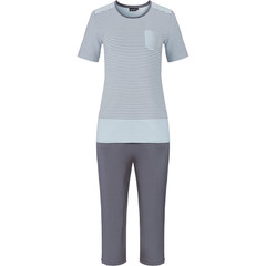 Pastunette Deluxe dames nacht-homewear set  'elegant fine stripes'