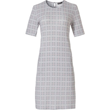 Pastunette Deluxe dames night & homewear nachthemd 'checkered blocks of style'