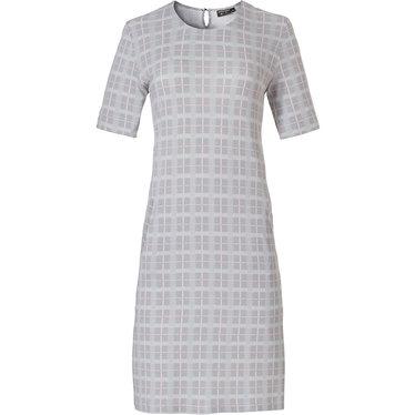 Pastunette Deluxe ladies short sleeve night & homewear dress 'checkered blocks of style'