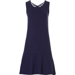 Pastunette Beach sleeveless dark blue beach dress with pretty back details