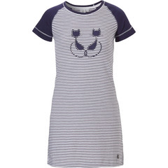 Rebelle Girls girls short sleeve cotton nightdress 'Purrrfectly in love pussycats'
