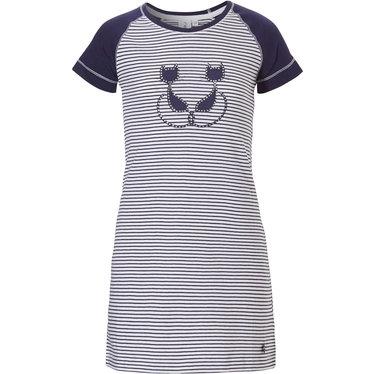 Rebelle Girls katoenen meisjes nachthemd met korte mouwen 'Purrrfectly in love pussycats'