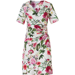 Pastunette Beach Premium Collection short sleeve beach dress 'beautiful Summer flowers'