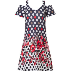 Pastunette Beach open shoulder beach dress with straps 'fashion & flowers'