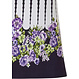 Pastunette Beach 'dotty about flowers' dark blue & white ladies floral & dots 'must have' holiday favourite  beach dress with short sleeves