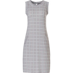 Pastunette Deluxe ladies night & homewear sleeveless dress 'checkered blocks of style'