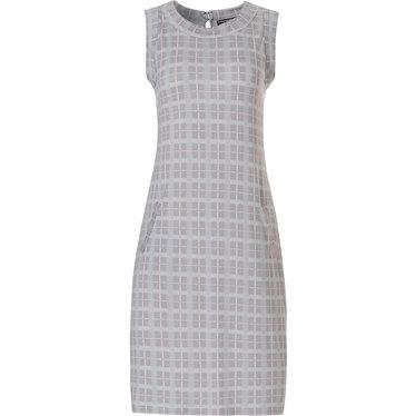 Pastunette Deluxe  'checkered blocks of style' ladies night & homewear sleeveless dress
