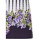 Pastunette Beach 'dotty about flowers' dark blue & white ladies floral & dots 'must have' holiday favourite  beach dress with 'capped sleeves' with adjustable ties